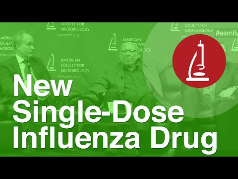 New Single-Dose Influenza Drug - ICAAC 2014
