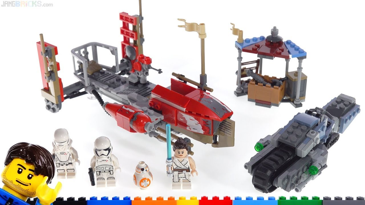 Lego Star Wars Pasaana Speeder Chase Quick Review Long Thoughts Qs Answered 75250 Youtube