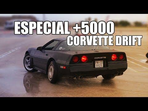 HAGO DRIFT CON EL CORVETTE V8 DE 1986 | ESPECIAL 5000 NACHO DRIFT