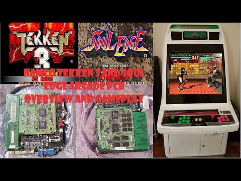 Namco Tekken 3 And Soul Edge Arcade Pcb Overview And Gameplay Youtube