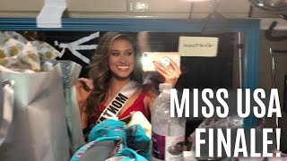 Backstage at Miss USA 2018 | Finals night!