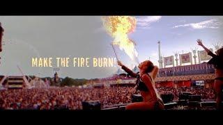 Смотреть клип Psyko Punkz - Make The Fire Burn