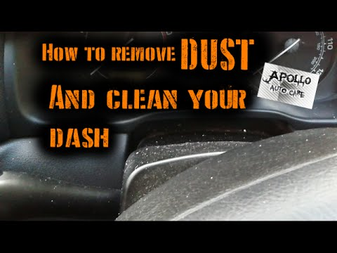 How To Remove DUST & Clean Your Dash