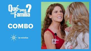 ¿Qué le pasa a mi familia?: ¡Regina y Rosalba terminan a cachetadas! | C-59 | Las Estrellas