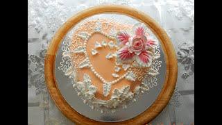 """УКРАШЕНИЕ ТОРТОВ , Торт """"ЛУИЗА"""" от SWEET BEAUTY СЛАДКАЯ КРАСОТА , CAKE DECORATION"""