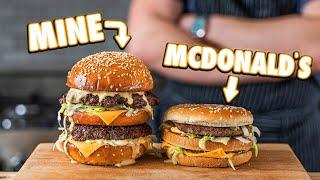 Making The McDonald's Big Mac At Home   But Better