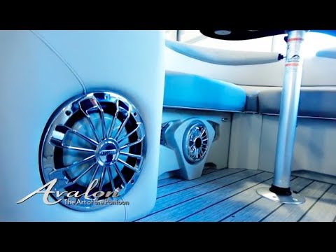2018 Pontoon Boats HIGH-PERFORMANCE SOUND PACKAGE | Avalon Luxury Pontoons