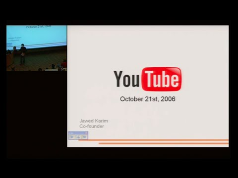 YouTube - From Concept to Hypergrowth - Jawed Karim