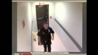 Raw Video: Zimmerman at Fla. Police Station