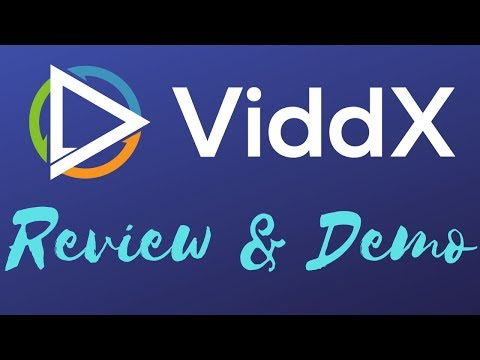 ViddX Review | ViddX Review and Demo | ViddX Demo. http://bit.ly/2zsLjhc