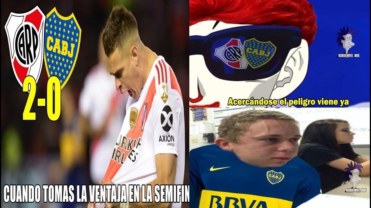 Memes River Vs Boca 2 0 Semifinales De La Copa Libertadores Penal Para River Youtube