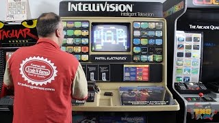 Intellivision Store Display! Trade-N-Games Kiosk Collection