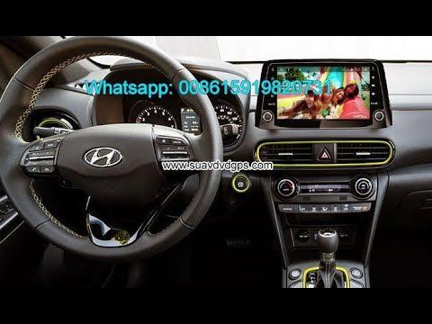 Hyundai Kona stereo car audio radio android wifi GPS camera