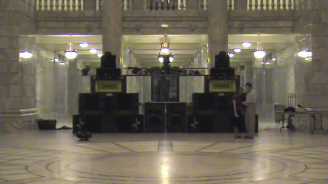 Auido Visions Mobile DJ Big System Setup time lapse - YouTube