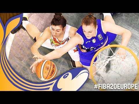Portugal v Italy - Full Game - FIBA U20 Women's European Championship 2017