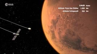 ExoMars 2016 arriving at Mars