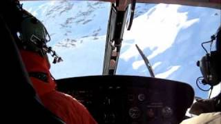 Helicopter ride from Bonneval sur Arc to Val d Isere