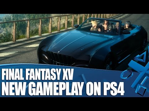 Final Fantasy XV New Gameplay - How To Customise The Regalia (And Your Outfits)