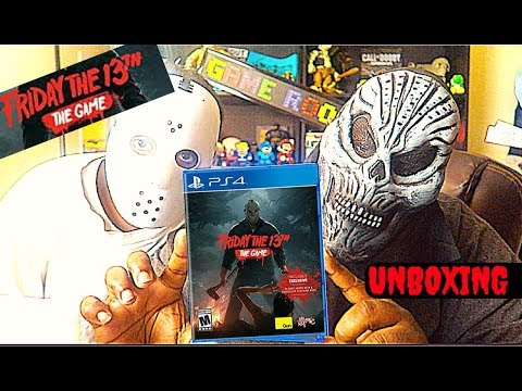 FRIDAY THE 13TH THE GAME UNBOXING PS4 Halloween Edition