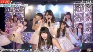 20170223 原宿駅前ステージ#38③『チアリーダー』ふわふわ.