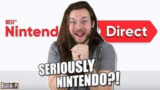 Let's Talk About THAT FREAKING Nintendo Direct