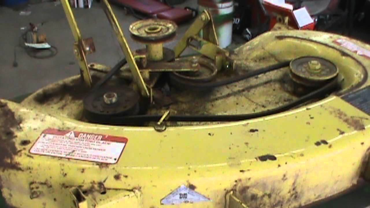 John Deere 111 More Work Done 3 12 2012wmv Youtube
