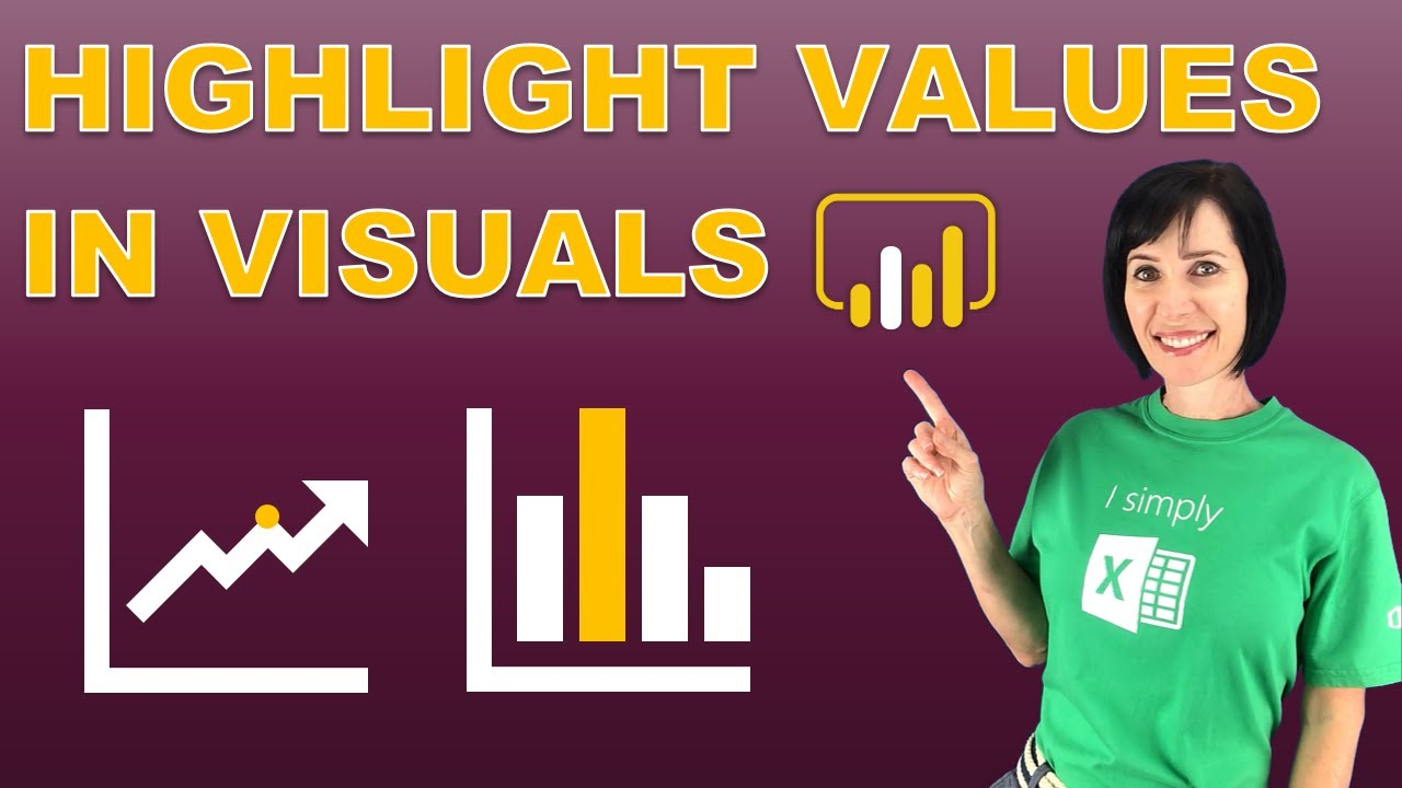 Highlight Values in Power BI Visuals – Emphasize Important Points Easily