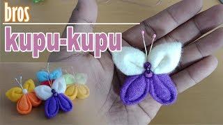 Halo..... assalamu'alaikum..... berikut ini tutorial cara membut bros dari kain flanel dengan motif kupu-kupu, yok...silahkan ditonton sampai selesai.... dan...