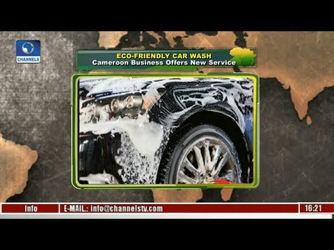 Eco-Friendly Car Wash: Cameroon Business Offers New Service