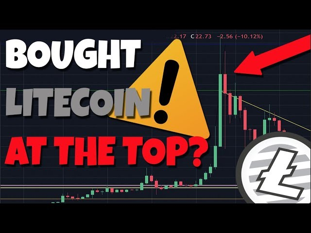 Watch This If You Bought Litecoin At The Top! What Is DCA?