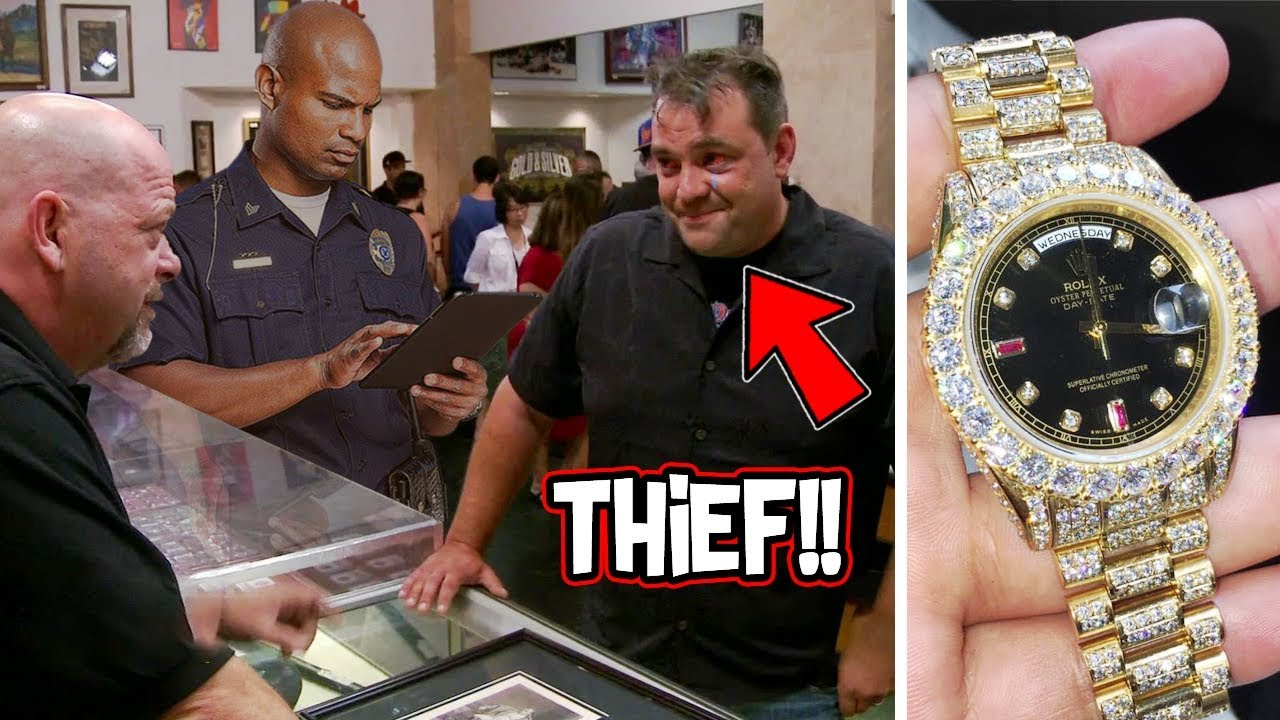 Download 10 Times The Pawn Stars Encounter Thieves