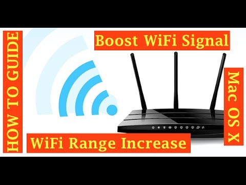 how to boost your wifi signal mac os x youtube. Black Bedroom Furniture Sets. Home Design Ideas
