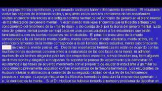 Audiolibro: El Kybalion - Tres Iniciados, Hermes Trismegisto.