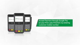 Here are the transaction steps about how to do payment using google pay app over a pine labs pos terminal. six simple offline.