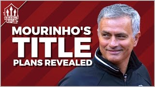 How Jose MOURINHO will make MANCHESTER UNITED Champions Again