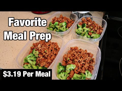 Easy Ground Turkey Meal Prep ($3.19 Per Meal)