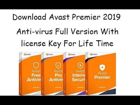 avast antivirus full version 2019