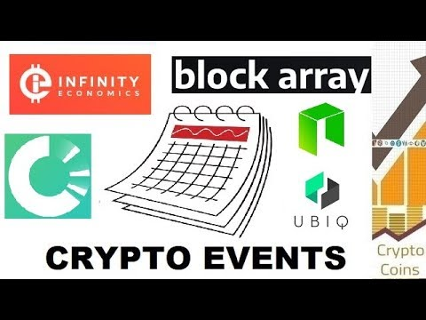 Upcoming Cryptocurrency Events (22nd to 28th of April) - Looking for Good Investments and Pumps