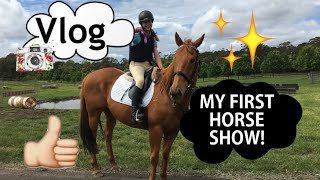 MY FIRST HORSE SHOW!