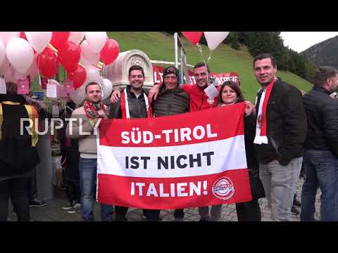 Italy: 'South Tyrol is not Italy' - South Tyroleans demand Austrian citizenship