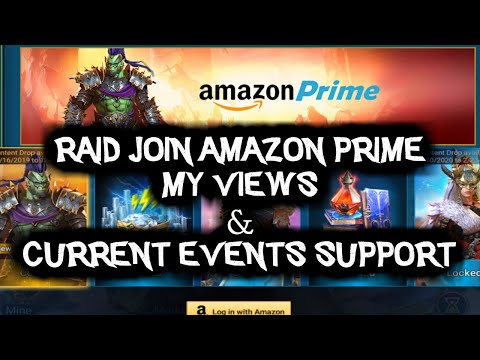 RAID: Shadow Legends | Plarium team up with Amazon Prime & How to maximise currents events in game!