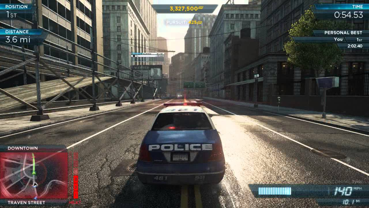 NFS Most Wanted 2012 Ford Crown Victoria Police Interceptor Pro Mods
