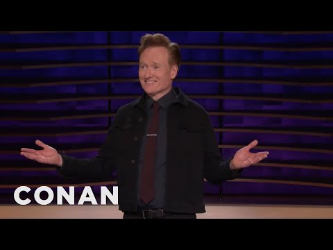 Conan: Running For President Is The Latest Fad