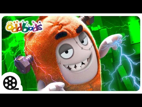 Oddbods | HORROR Sci Fi - Poltergeist | Funny Cartoons For Children