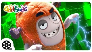 Oddbods | HORROR Sci Fi - Poltergeist | Funny Cartoons For Children