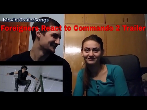 All Foreigners React to Commando 2 Vidyut Trailer (10 Amazing Reactions) Action, Stunts