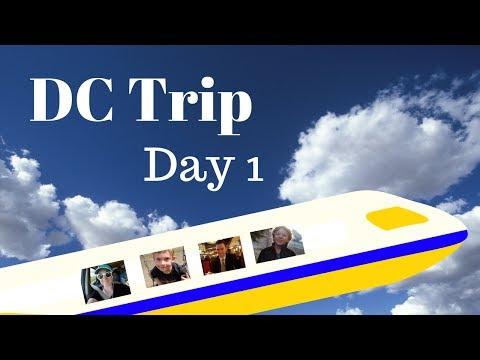Family Travel Vlog-DC Trip Day 1