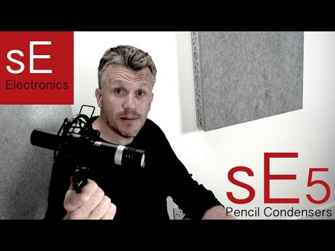sE5 Pencil condensers, you have to hear these