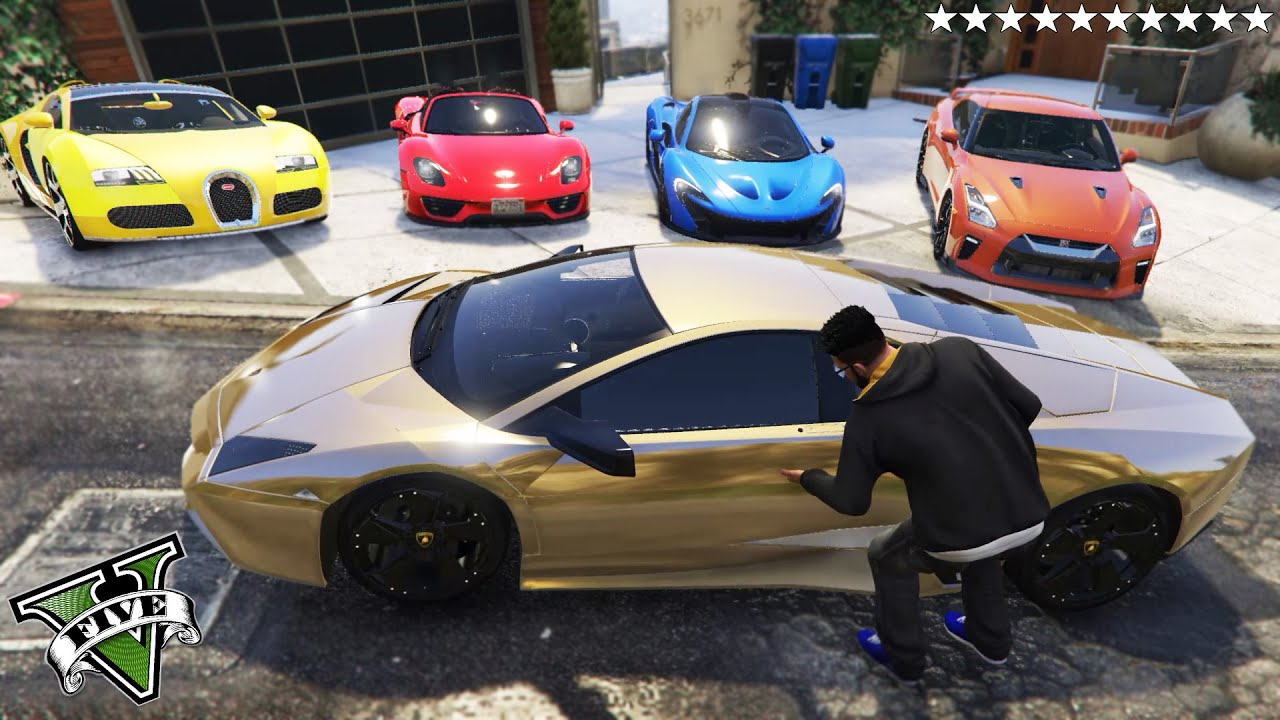 GTA 5 - Stealing 2020 Super Luxury/Sports Cars with Franklin! | (GTA V Real Life Cars #48)