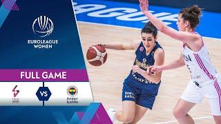 LDLC ASVEL Feminin v Fenerbahce Oznur Kablo  Full Game - EuroLeague Women 2020-21